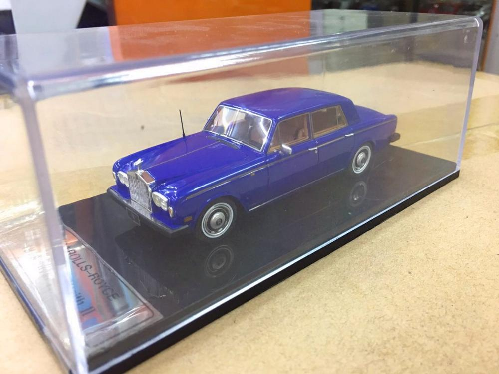 1 43 Rolls Royce 1978 Silver Wraith II Resin model Collection Gift