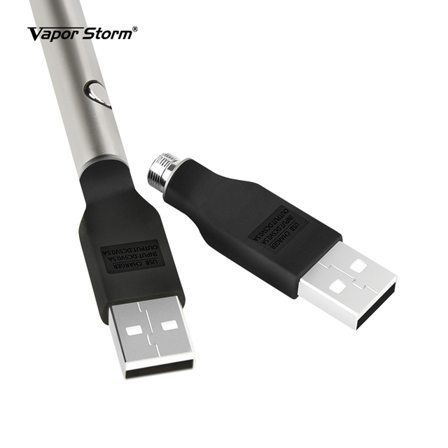 4pcs Electronic Cigarette USB Charger 510 Thread Wireless for eGo EVOD CBD Vape Pen Battery 5V 0.5A Charging 1053 IC Protection