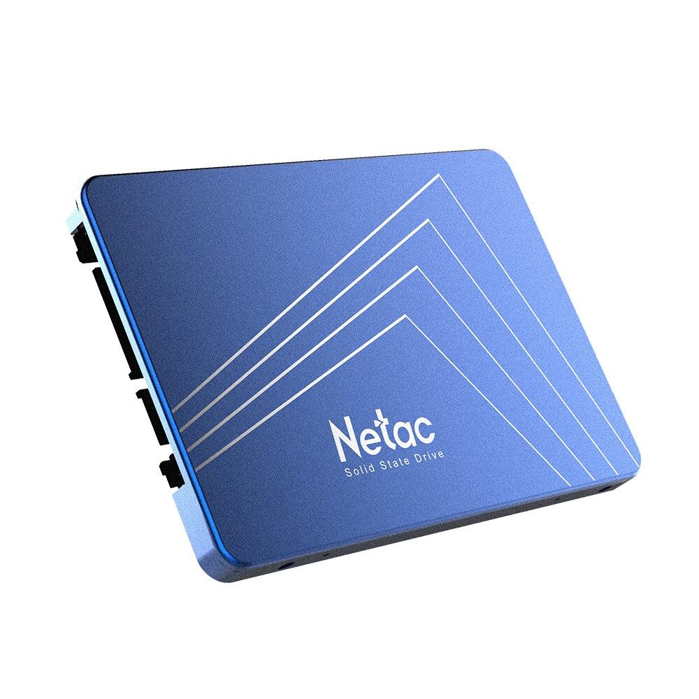 Netac SSD Hard Drive 960GB SATA3 N500S 960GB SATA6Gb/s 2.5in Solid State Drive SSD 3D TLC Nand Flash Hard Disk Laptop