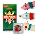Ребристые презервативы с вагинальной стимуляцией  6 шт./набор