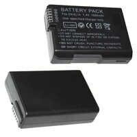 EN-EL14 baterías de 7,4 V 1500mAh ENEL14 es EL14 Cámara Paquete de batería para Nikon D5200 D3100 D3200 D5100 P7000 P7100 MH-24