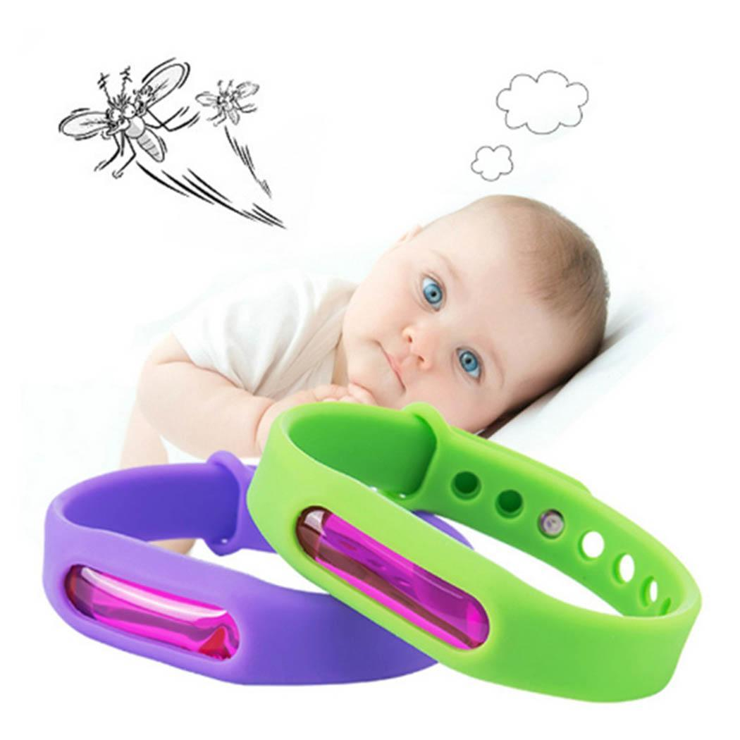 1pc Baby Care Anti Mosquito Repellent Silicone Bracelet Killer Mosquito Wrist Band Sleep bedding outdoor Insect