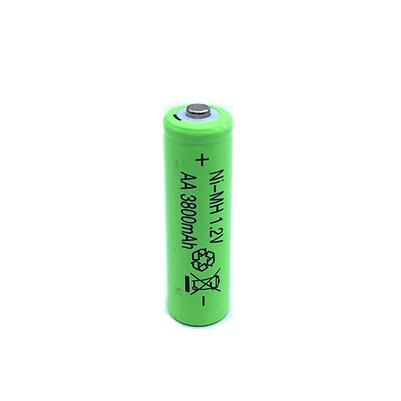 10pcs 3800mAh Ni MH AA Battery NI MH 1 2V Neutral AA rechargeable battery batteries Free shipping in Replacement Batteries from Consumer Electronics