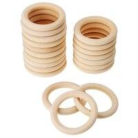 20 упак. деревянные кольца для ремесла, Кольцо Кулон и Разъемы Ювелирных изделий 70 мм