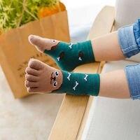 Носочки «5 пальцев» с мордашками животных #2