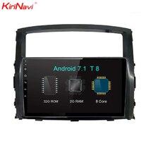KiriNavi Octa Core Android 7.1 Car Radio For Mitsubishi Pajero Stereo Audio Gps Navigation Multimedia System 2006 2015 RDS 4G