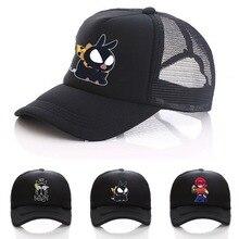 Аниме Ранма 1/2 шляпа для женщин мужчин и девочек шляпа бейсбольная сетчатая Кепка Косплей Отрегулированная бейсбольная шляпа