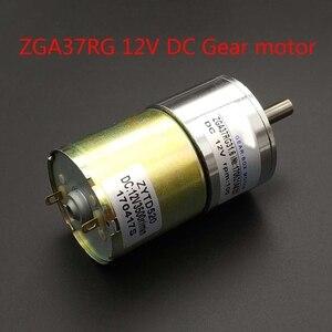 Image 1 - 37GA520RG dc 12 V getriebe motor 24 rpm 5/10/15/20/30/50/ 45/60/80/100/120/150/200/300/500/100 0 RPM geschwindigkeit 37 MM Zentrale welle
