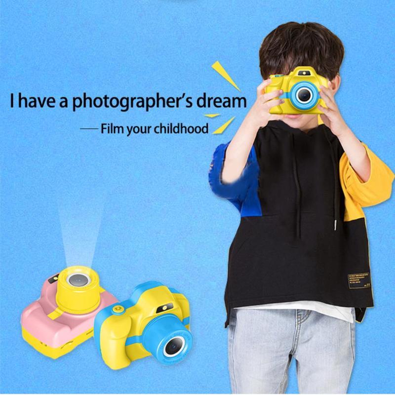 Enfants cadeau d'anniversaire jouets électroniques DSLR caméra HD Portable caméra vidéo numérique 1.5 pouces écran pour enfant enfants vacances jouet - 3