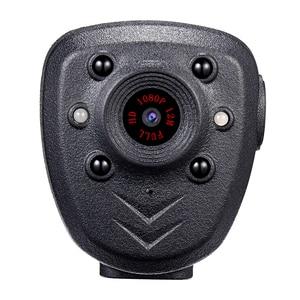 Image 2 - HD 1080P Polizei Körper Revers Getragen Video Kamera DVR IR Nacht Visible LED Licht Cam 4 stunde Rekord digital Mini DV Recorder Stimme 1