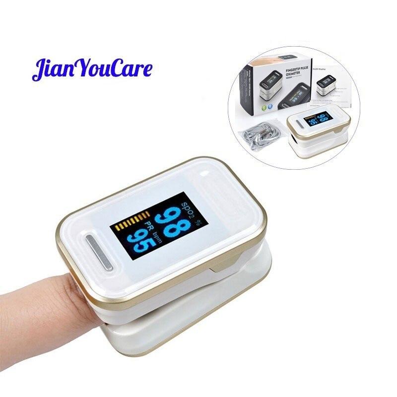 Rechargeable Child Finger Pulse Oximeter SpO2 Blood Oxygen