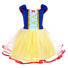 AmzBarley Girls Princess Dress Snow White Birthday Party Carnival Holiday Cosplay Costumes For Baby Toddler Girl