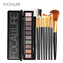 FOCALLURE Matte Eyeshadow Palette Waterproof High Pigment Shimmer Makeup Smoky Eye Shadow Pallete