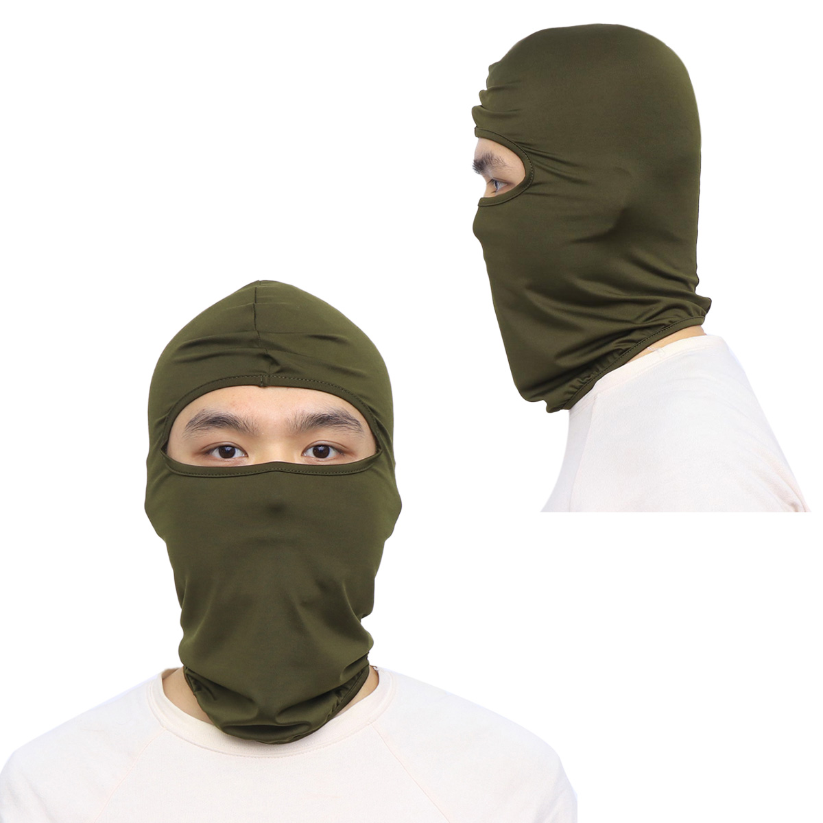 1 Pc Hunting Mask Racing CS Balaclava Wind-Proof Dustproof Cap Game Headgear Flying Hood Riding Mask For Motorcycle image