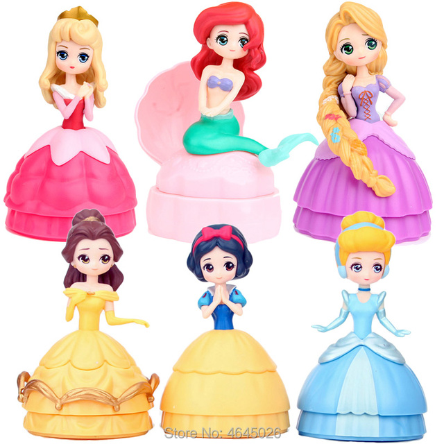 c80ec1e6cdd Lol Princess Dolls Sleeping Beauty Sofia Elsa Anna poupee Ball Dolls bebek  Mermaid baby bebek Kids Toys for Children Girls Gift