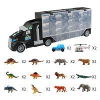 Dinosaur Model Transport Vehicle Tractor Animal Doll Transport Truck Toy Dinosaur Model Transport Vehicle Tractor Animal Doll