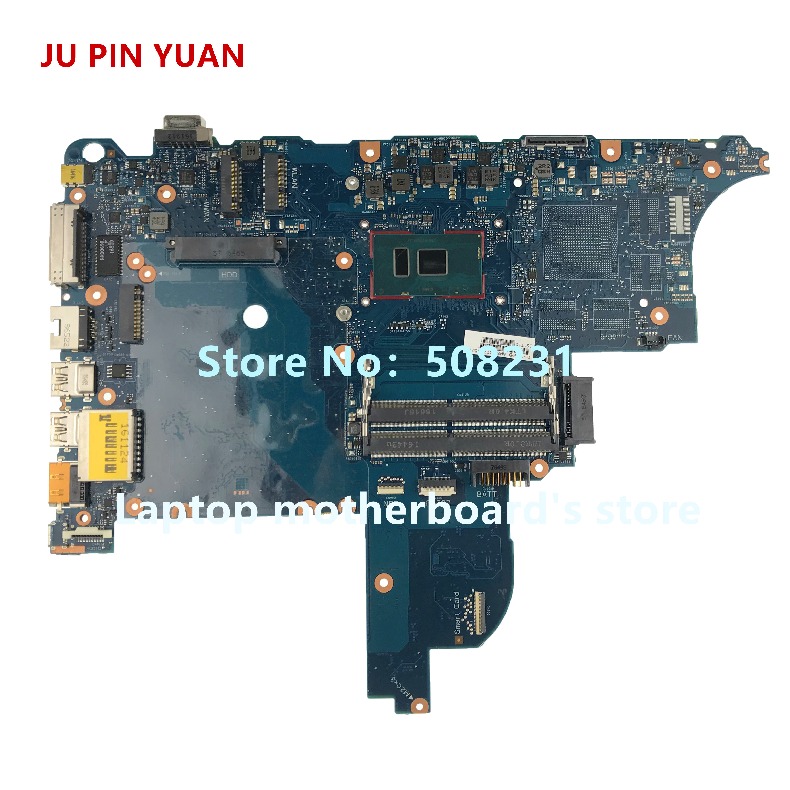Laptop Zubehör Laptop Motherboard Ju Pin Yuan Für Hp Probook 640 650 G2 Laptop Motherboard 840716-601 840716-001 6050a2723701-mb-a02 I5-6200u Voll Getestet