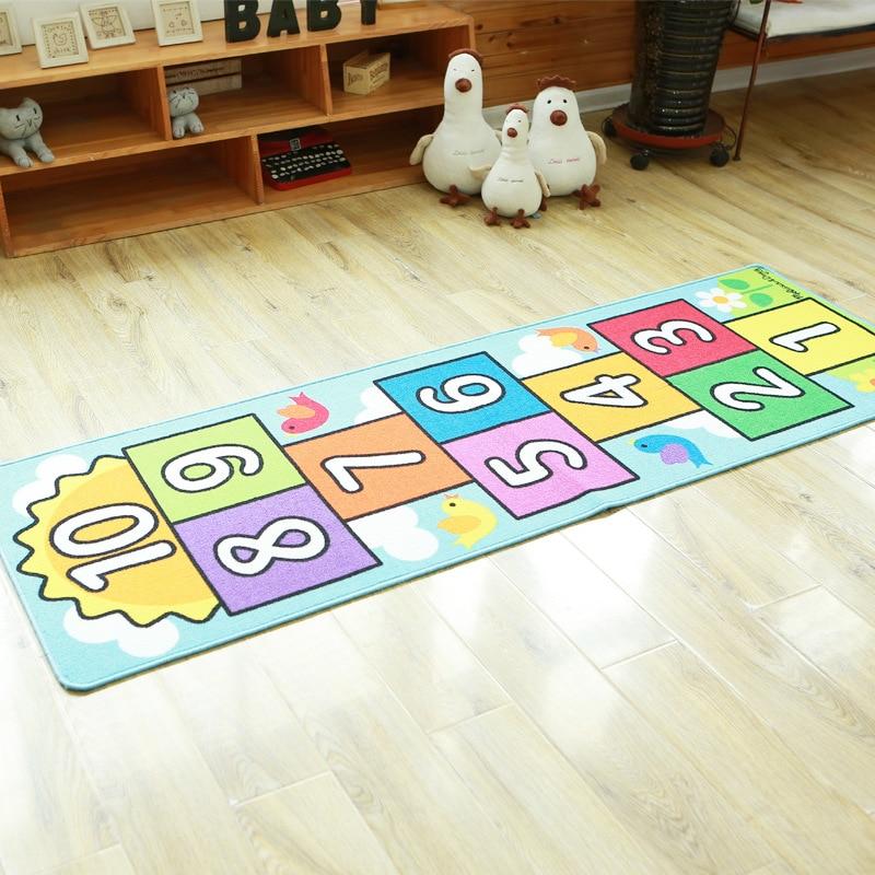 Tapis de jeu bébé sautant épais 66X198 cm enfants tapis jouets pour enfants tapis pique-nique chambre douce ramper développement tapis cadeau