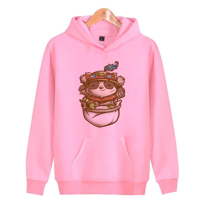 League Of Legends Hoodies Sweatshirts Streetwear Pullover Male Homme Men/women Hoddies Harajuku Hop Hip J1632