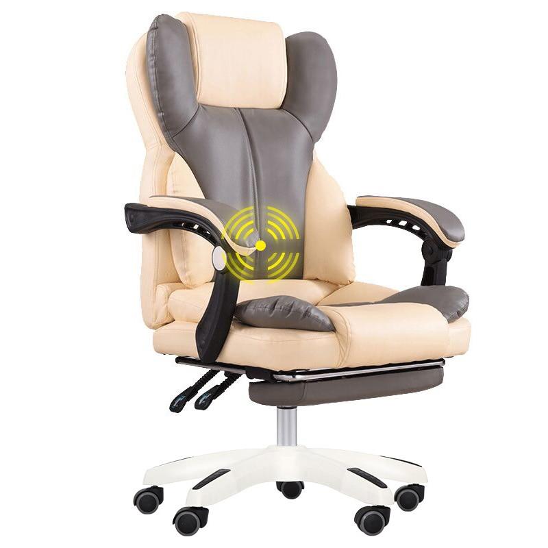 Купить с кэшбэком High Quality Office Boss Chair Ergonomic Computer Gaming Chair Internet Cafe Seat Household Reclining Chair