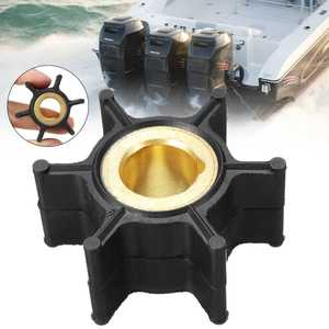 389576 436137 Water Pump Impeller for Evinrude Johnson 4HP-8HP Outboard Motor 6 Blades Black Rubber Diameter 38mm Accessories(China)