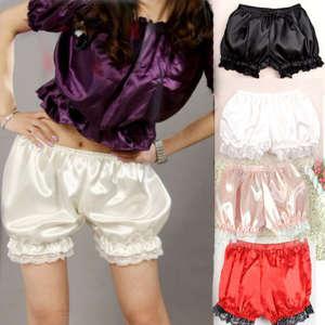 Women's Elastic Safety Lace Under Shorts Pants Bottoms Leggings Render Trousers