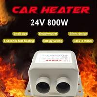 12V 24V 600W 800W Car Heater Fan Portable Electric Heaters Portable Electric Heater Warmer Heated Seat Window Defroster