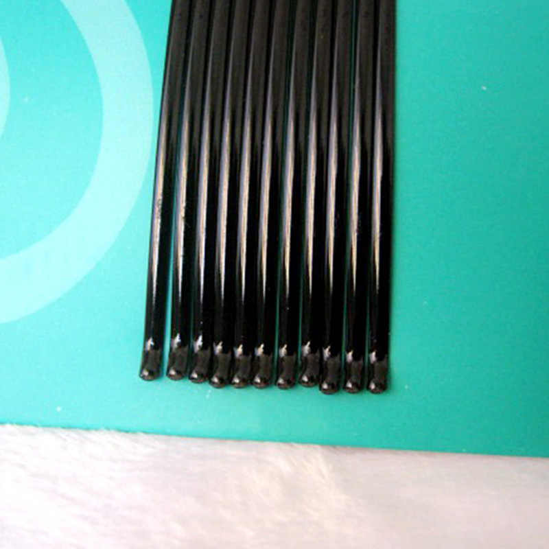 Verkauf 1Set Schwarz Haarnadeln Barrettes Für Mädchen Frauen Unsichtbare Welle Haar Clips Haar Styling Zubehör