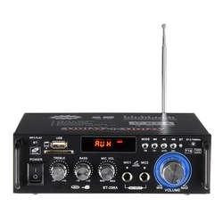 600 w casa amplificadores de áudio bluetooth subwoofer amplificador do sistema de som do teatro do carro em casa mini amplificador digital com controle remoto