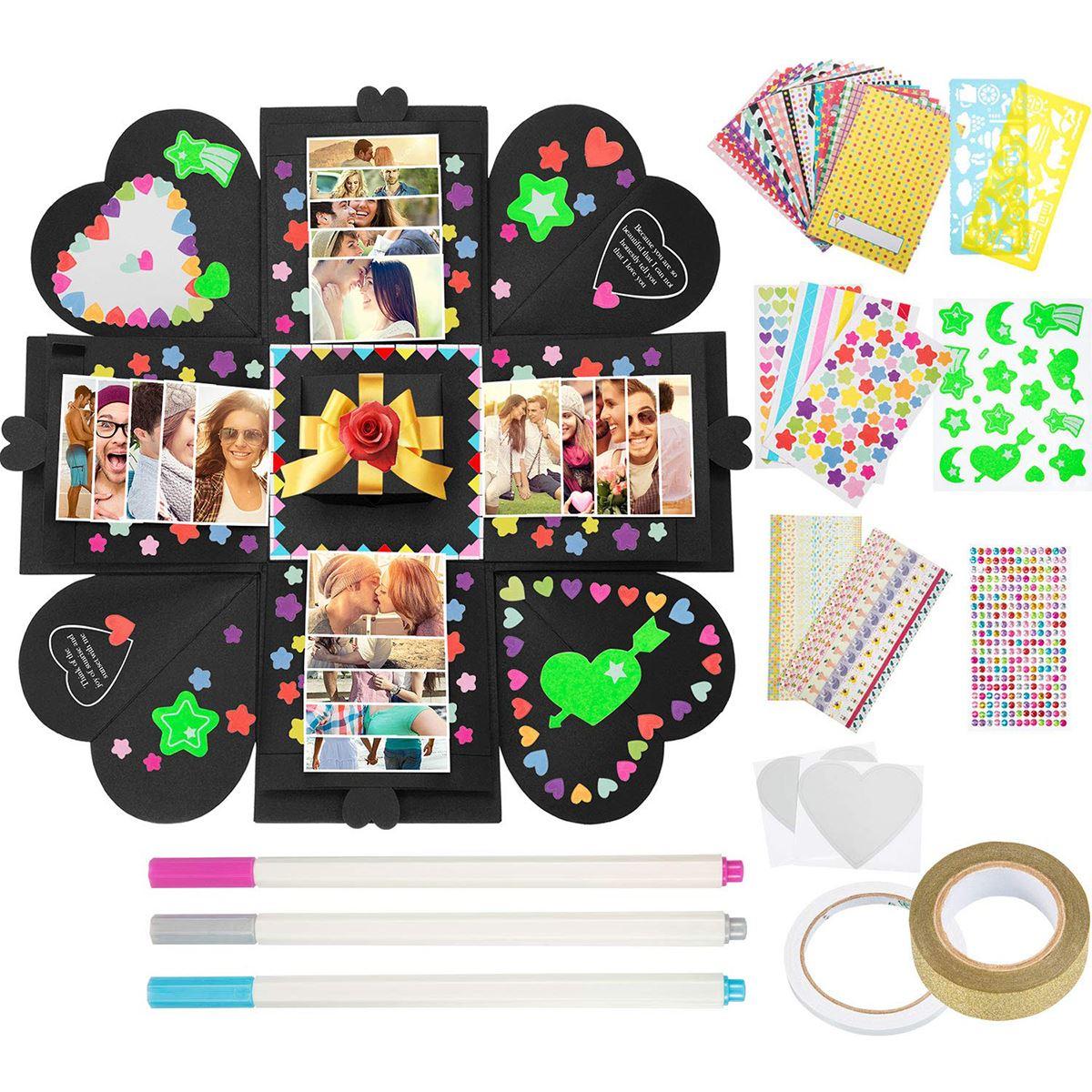 DIY Love Explosion Box Ideas Suprise Gift Wedding Box