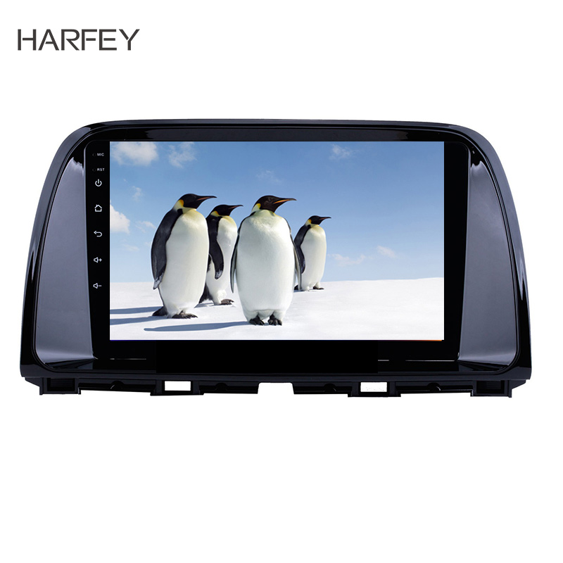 Harfey 9for Mazda CX-5 2012-2015 Android 8.1 GPS Navigation System WIFI Bluetooth Music USB OBD2 AUX Radio Backup Camera SWCHarfey 9for Mazda CX-5 2012-2015 Android 8.1 GPS Navigation System WIFI Bluetooth Music USB OBD2 AUX Radio Backup Camera SWC