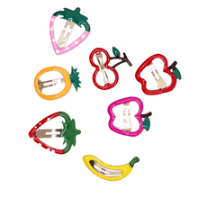 14pcs Hair Pins Decorative Cute Fruit Shaped Hair Clips Hair Barrette Hair Accessories Bob