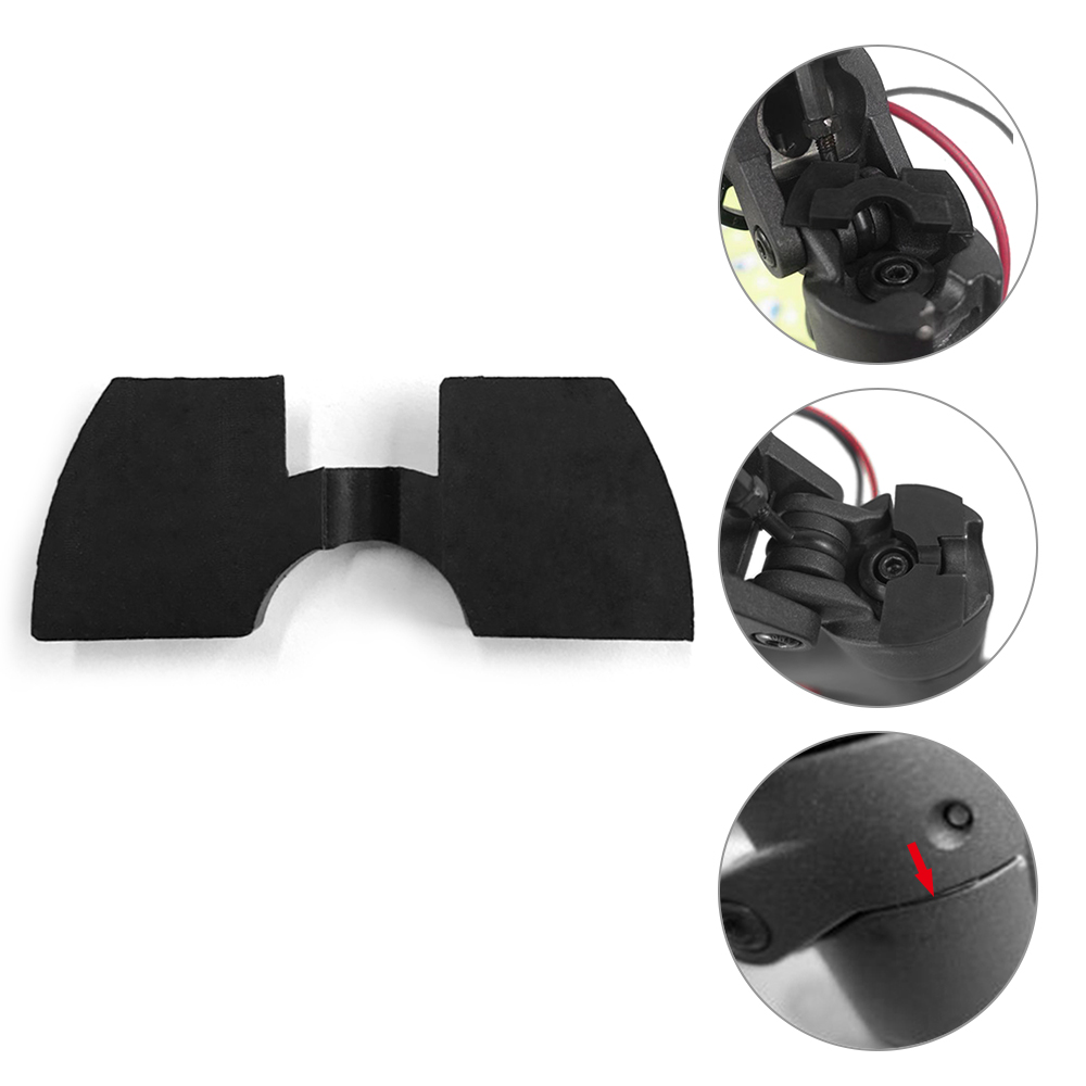 0.8/1.2mm Scooter Folding Joint Damper Rubber Pad Vibration Cushion Fixing Damper Paster For Xiaomi Mijia M365 Electric Scooters