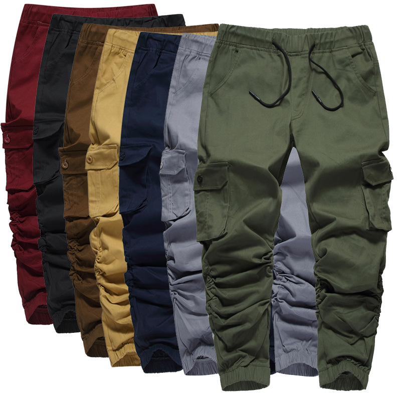 Men's Baggy Casual Harem Pants 2018 Autumn Jogger Sport wear Trousers Man Sweat pant Male's Fitness Bodybuilding Sports Pant