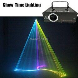 Show Time 500 mw RGB del fumetto linea Laser animale fiore danza Scanner A Casa La Luce Del Partito Del DJ di Illuminazione Della Fase KTV Mostra laser