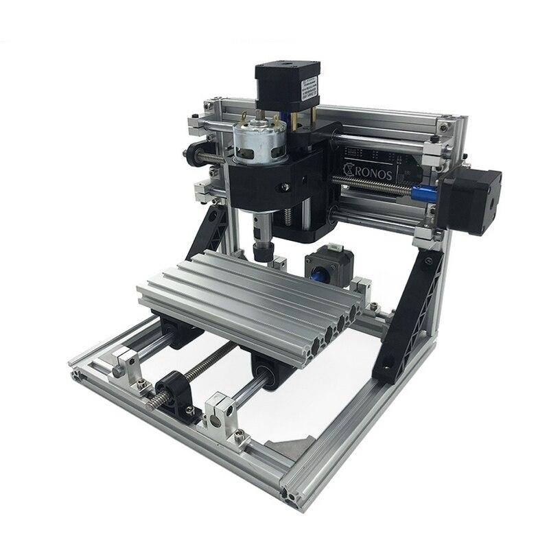 Mini CNC 1610 Laser Machine de gravure avec 500 mw tête ER11 bois routeur PCB fraiseuse bois sculpture Machine bricolage avec GRBL