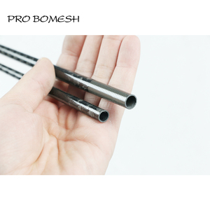 Image 2 - Pro Bomesh 2 الفراغات 1.98 متر L ML 2 القسم 30T ألياف الكربون xray التفاف 3K الكربون حنفية باس قضيب فارغ لتقوم بها بنفسك بناء قضيب