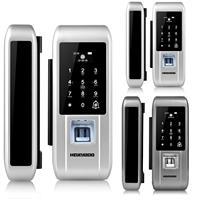 HOJOJODO S600 Fingerprint Code Electronic Digital Door Lock Glass Home Anti theft Security Intelligent Password Opener Smart