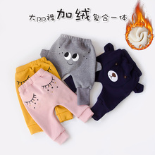 Baby boys girls Pants Autumn Winter 1-3 Outside Clothes Baby Pants PP Haren Pants winter baby girls page 1