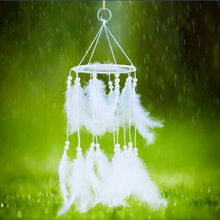 Hanging-Decoration Dreamcatcher Indian-Style Pendant Craft Wind-Chimes Handmade Gift