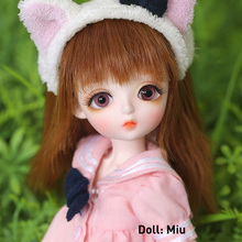 1/6 BJD doll Full Set Suit Linachouchou DaisyA MiuCotton Candy Cream Melissa Chloe Cute YOSD Wig Clothes Shoes Littlefee Fullset be with you potato fullset bjd sd dolls yosd littlefee luts 1 6 resin figures ball joint toys wig shoes eyes clothes bwy