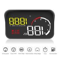 M10 Car OBD2 HUD Head Up Display Digital Speedometer Windshield Projector Reader Engine RPM Faulty Code Water Temperature