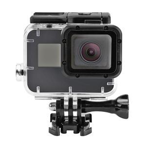 Image 2 - 40 متر تحت الماء مقاوم للماء ل GoPro بطل 7 5 6 أسود عمل كاميرا واقية الإسكان غطاء شل الإطار ل GoPro الإكسسوارات