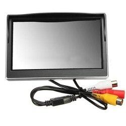 """Nowy 5 """"800*480 TFT LCD ekran hd dla samochodu tylna kamera cofania w Monitory samochodowe od Samochody i motocykle na"""