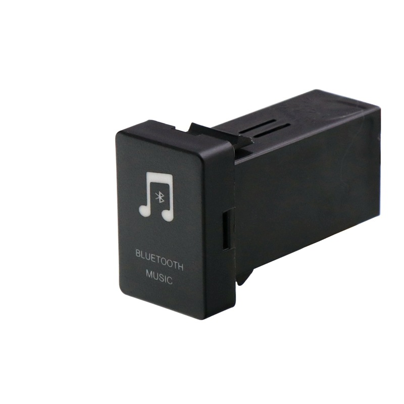 Ihens5 adaptateur de voiture Bluetooth Aux Bluetooth kit de voiture lecteur de musique Audio pour Toyota Camry Corolla Yaris RAV4 Reiz Land Cruiser