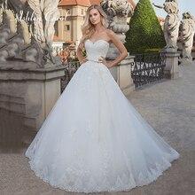 Ashley Carol Appliques A-Line Wedding Dress 2019 Glamorous