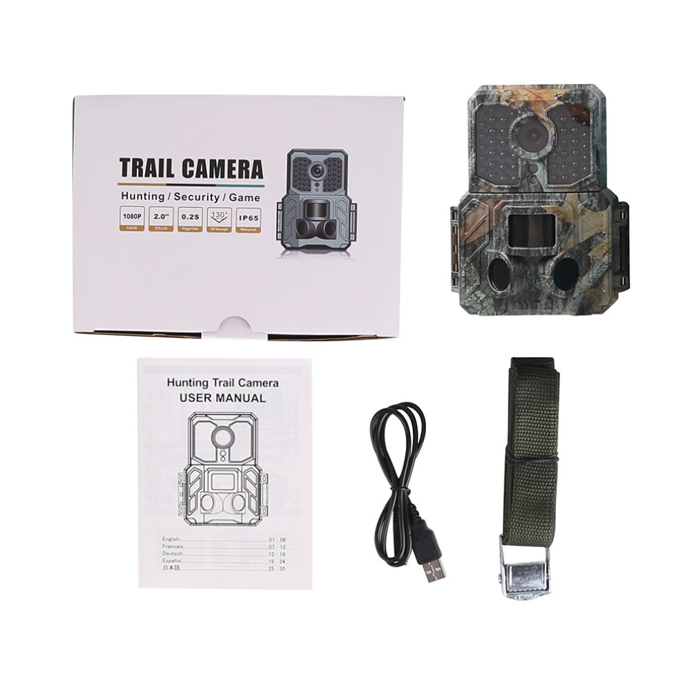 New SV-TCM16H 12MP LCD Screen Waterproof Infrared Hunting Camera Low-Glow LED Night Vision Tracker Digital CameraNew SV-TCM16H 12MP LCD Screen Waterproof Infrared Hunting Camera Low-Glow LED Night Vision Tracker Digital Camera