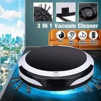 Aspiradora inteligente recargable para coche 3 en 1  Robot de barrido en seco  Robot aspirador de succión fuerte para oficina en casa|Aspiradoras| |  -