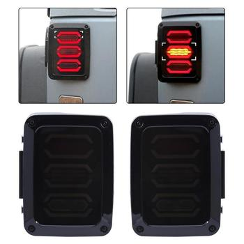 1 Pair LED Rear Tail Light Lamp Generation Tail Light Warning Lights Rear Lamp for Jeep