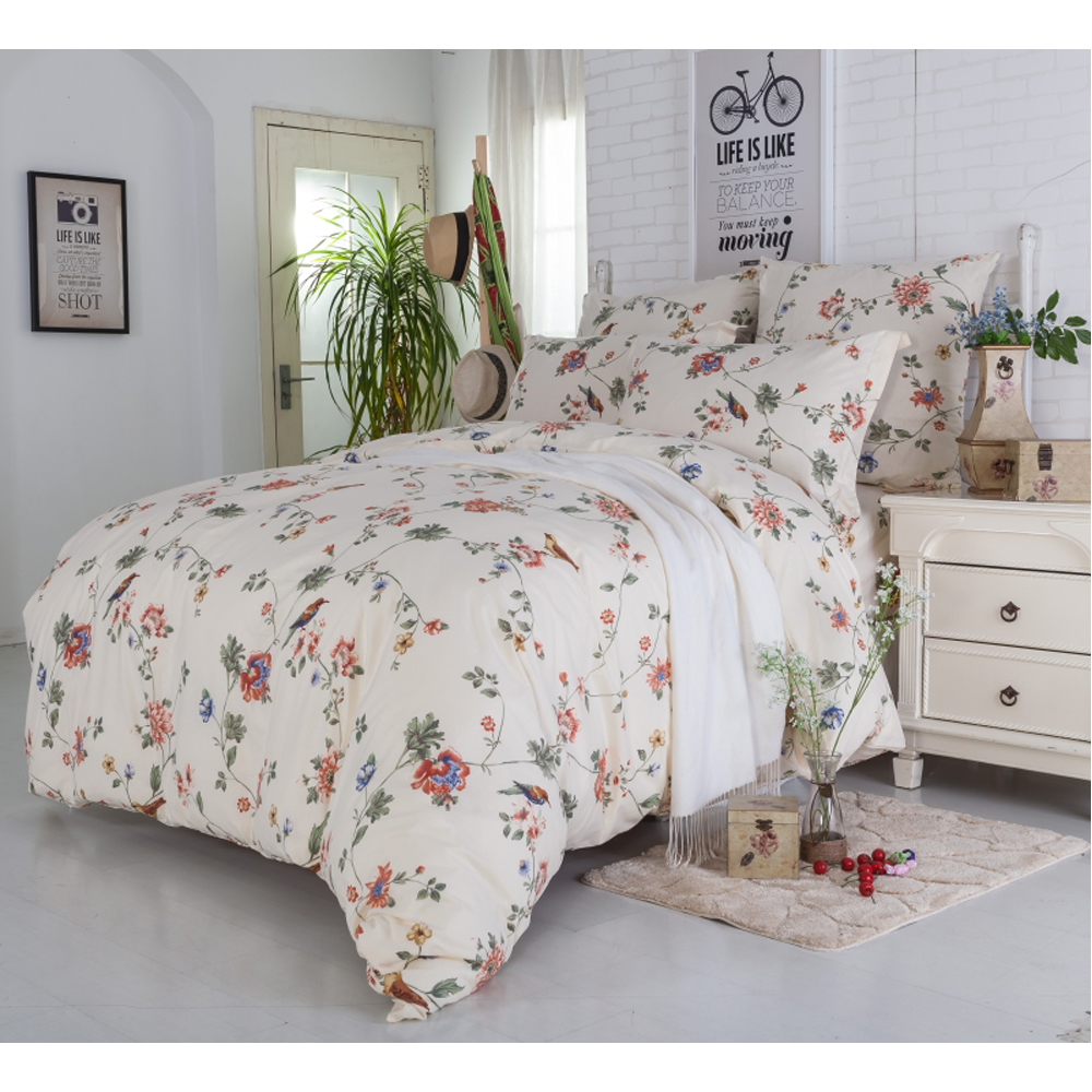Bedding Set SAILID A-178 cover set linings duvet cover bed sheet pillowcases TmallTS promotion 5pcs baby bedding set crib suit 100